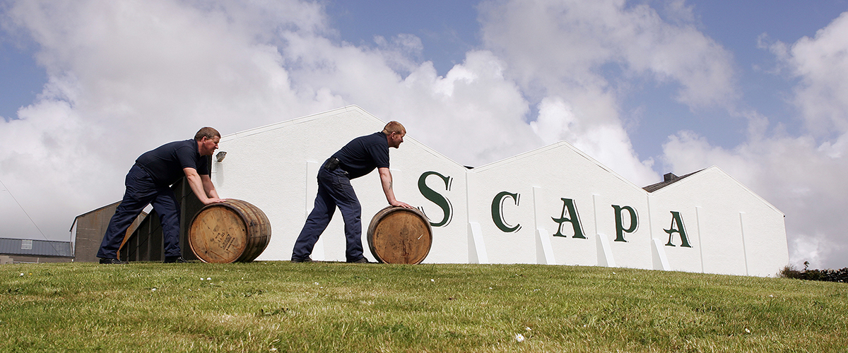 Scapa Distillery Islands Orkney Warehouse Casks