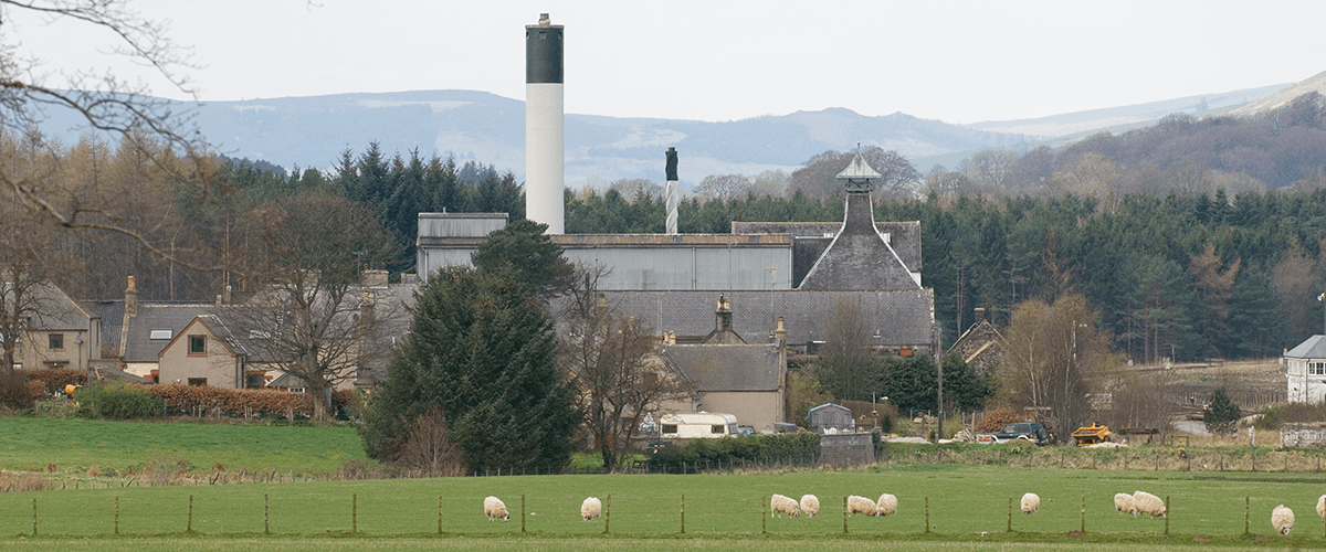 Ardmore Scotch Whisky Distillery Highlands