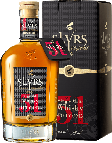 Slyrs 51 Fifty One Whisky 51% kaufen