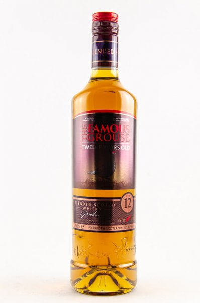 Famous Grouse 12 Jahre Blended Whisky Flasche 40 Prozent 0,7 Liter