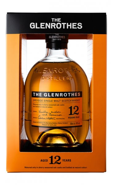 Glenrothes 12 Jahre Whisky Box