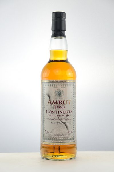 Amrut Two Continents 3rd Edition Single Malt Whisky 46%