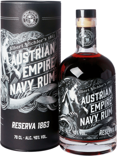 Albert Michler´s Austrian Empire Navy Rum Reseve 1863 40%