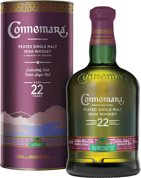 Connemara 22 Jahre Peated Single Malt Irish Whiskey 46%