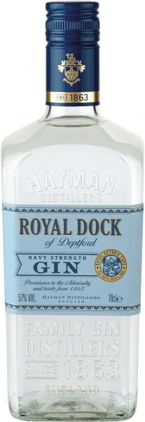 Hayman´s Royal Dock Gin 57%