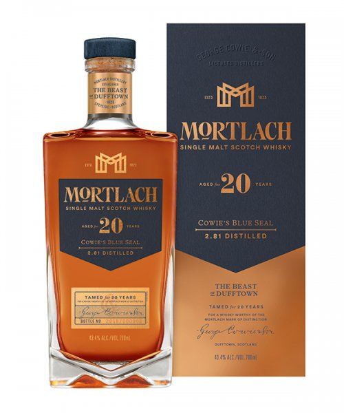 Mortlach 20 Jahre Cowie's Blue Seal Whisky 43,4% 0,7L