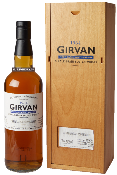 Girvan Single Grain Whisky 1964 48%