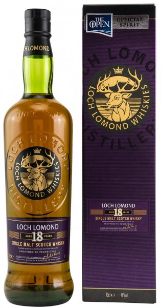 Loch Lomond 18 Jahre Highland Single Malt Whisky 46%