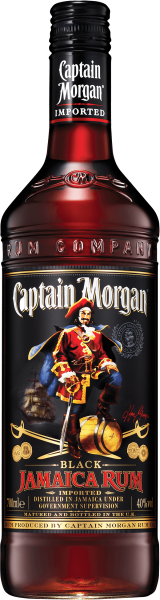 Captain Morgan Black Label Rum 40%