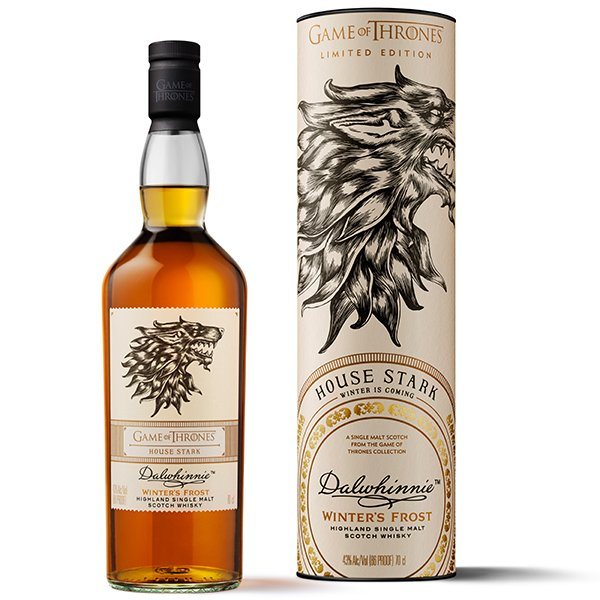 Dalwhinnie GoT Winter´s Frost House Stark Whisky 43% 0,7L Shop1