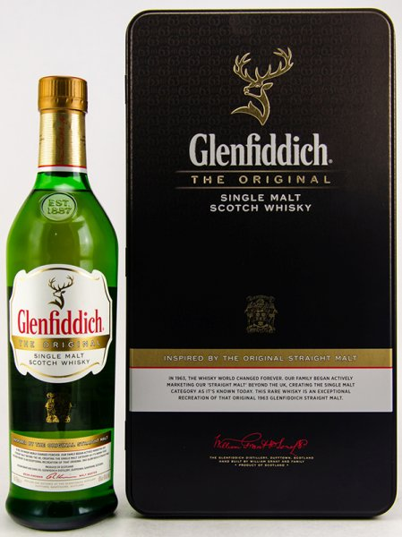 Glenfiddich The Original Whisky 40% 0,7L in Blechbox