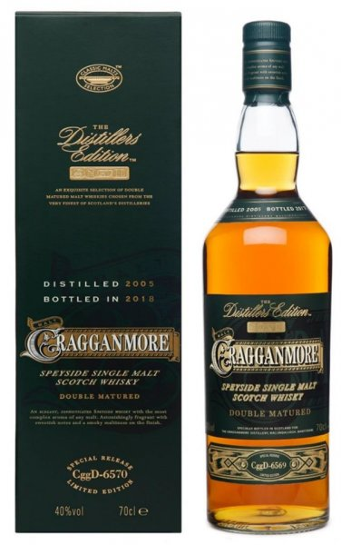 Cragganmore Distillers Edition 2005 2018 Whisky 40% 0,7L