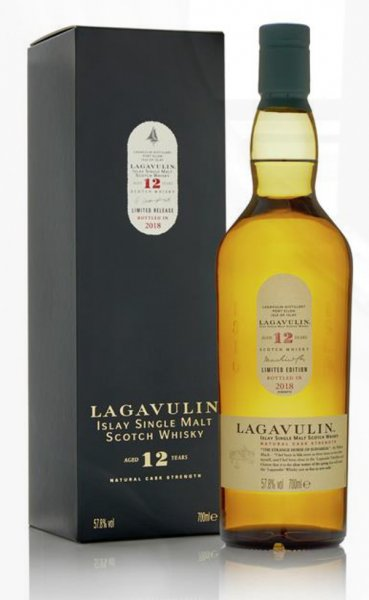 Lagavulin 12 Jahre Special Release 2018 Whisky 57,8% 0,7L