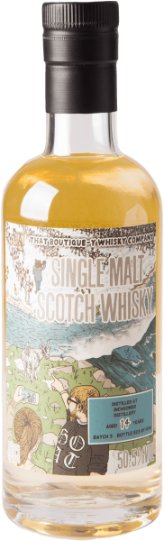 Inchgower 14 Jahre Batch 3 Whisky 50,5% 0,5L (That Boutique-y) Shop