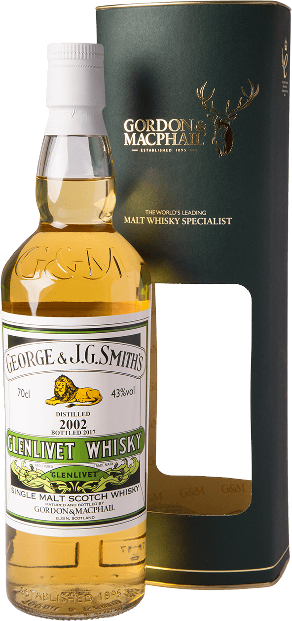 glenlivet 2002 2017 g m distillery labels whisky 43 aus schottland kaufen whisky rum online. Black Bedroom Furniture Sets. Home Design Ideas