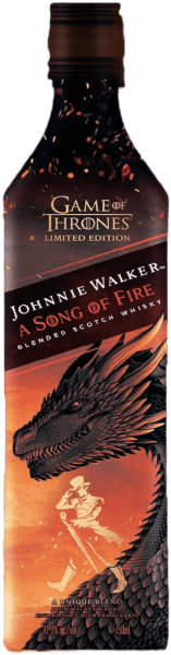 Johnnie Walker A Song of Fire - Game of Thrones Shop