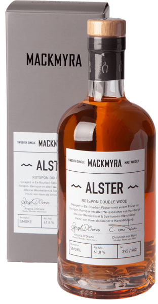 Mackmyra Alster Redspoon Double Wood 2019 Whisky 61,8% 0,5L