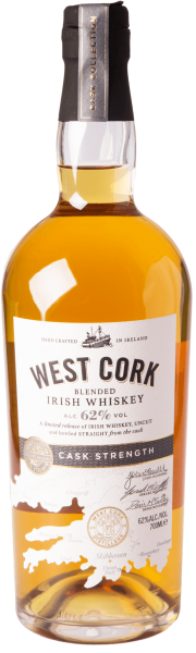 West Cork Cask Strength Blended Irish Whiskey 62%
