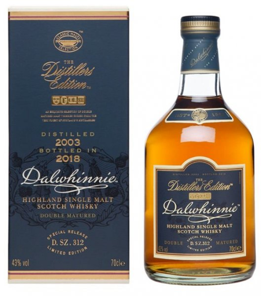 Dalwhinnie Distillers Edition 2003 2018 Whisky 43% 0,7L