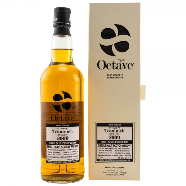Teaninich 11 Jahre 2009/2021 Cask 6728405 The Octave Whisky 55,6% (Duncan Taylor)