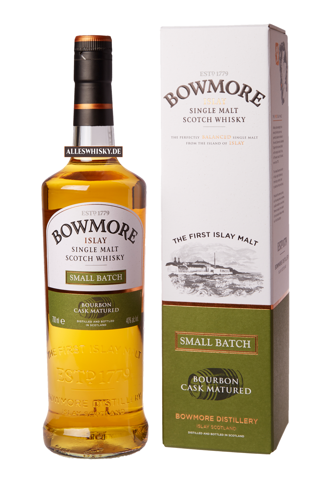 bowmore small batch reserve islay single malt whisky 40 0 7l schottland kaufen. Black Bedroom Furniture Sets. Home Design Ideas