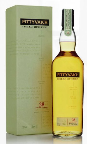 Pittyvaich 28 Jahre Jahre Special Release 2018 Whisky 52,1% 0,7L