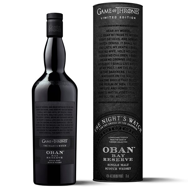 Oban GoT Bay Reserve The Night´s Watch Whisky 43% 0,7L Shop1