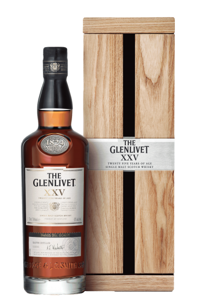Glenlivet 25 Jahre XXV Speyside Single Malt Scotch Whisky 43%
