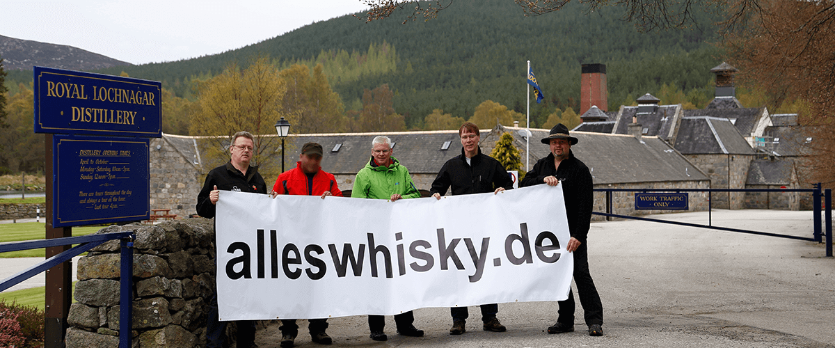 Royal Lochnagar Whisky Distillery Highlands alleswhisky Banner 2014