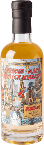 Blended Malt Whisky #4 Batch 1 (That Boutique-y) 53,6% 0,5L