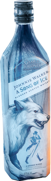 Johnnie Walker A Song of Ice - Game of Thrones Flasche