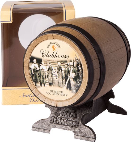Old St. Andrews Clubhouse Barrel Blended Whisky 40%