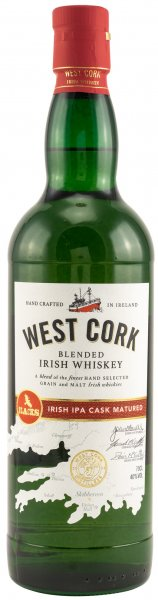West Cork Irish IPA Cask Finish Whiskey 40% 0,7L