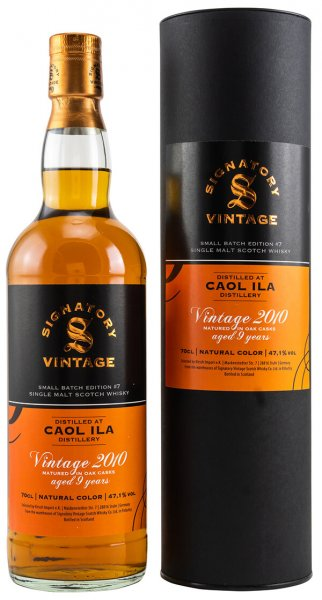 Caol Ila 2010/2020 Signatory Small Batch Edition #7 Whisky 47,1% 0,7L