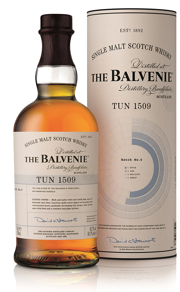 balvenie tun 1509 batch 4 whisky 51 7 aus schottland exklusiv kaufen whisky rum online shop. Black Bedroom Furniture Sets. Home Design Ideas
