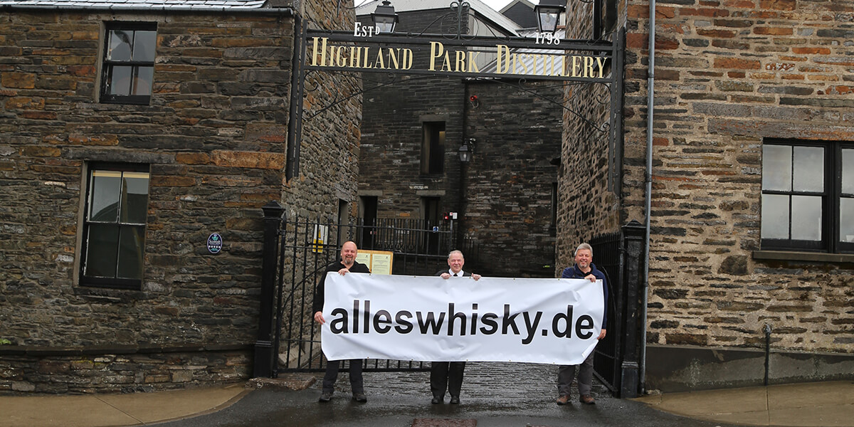 Highland Park Distillery Islands Orkney Scotch Malt Whisky alleswhisky Banner 2015