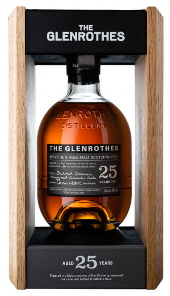 Glenrothes 25 Jahre Whisky Box