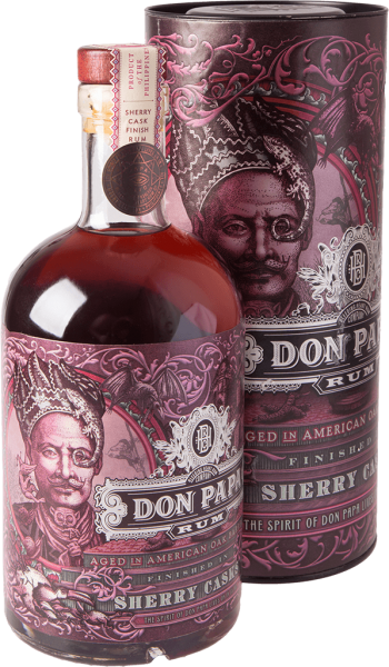 Don Papa Sherry Cask Rum 43% 0,7L Shop