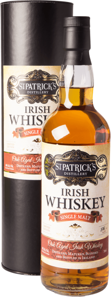 St. Patricks Irish Single Malt Whiskey 46%