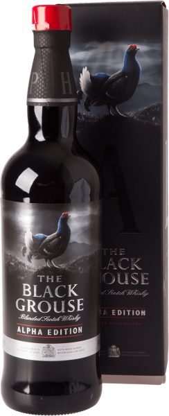 The Famous Grouse Black Alpha Edition Blended Scotch Whisky 40% 0,7L