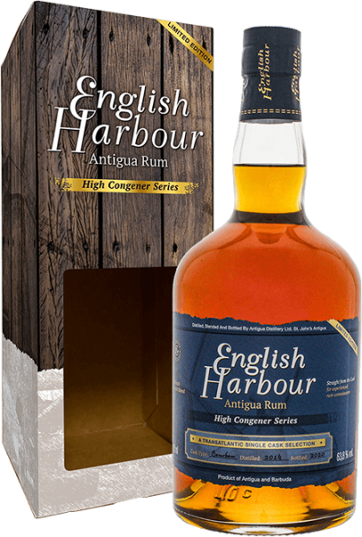 English Harbour High Congener Series 2014/2020 Limited Edition Rum 63,8% 0,7L