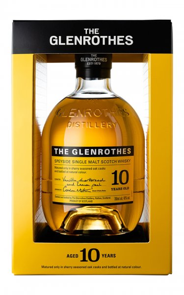 Glenrothes 10 Jahre Whisky Box