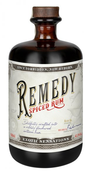 Remedy Spiced Rum 41,5% 0,7L