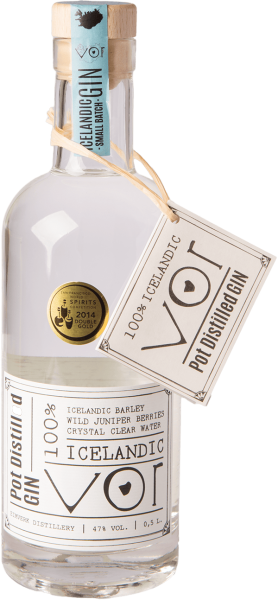 Vor Iceland Pot Stilled Gin 47%