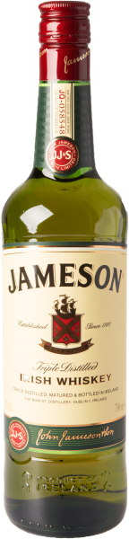 Jameson Blended Irish Whiskey 40%