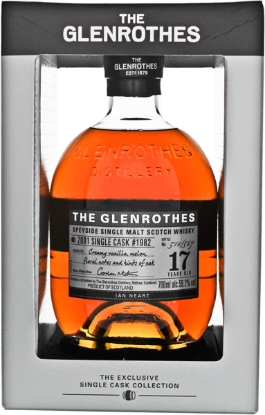 Glenrothes 17 Jahre 1982/2001 Single Cask Whisky 59,2% 0,7L