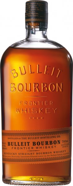 Bulleit Kentucky Straight Bourbon Frontier Whiskey 45%