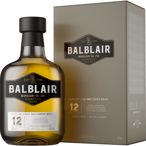 Balblair 12 Jahre Highland Single Malt Whisky Box 46% 0,7L
