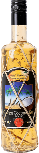 Taste DeLuxe Golden Coconut Rum Liqueur 40% Golden Leaf Edition