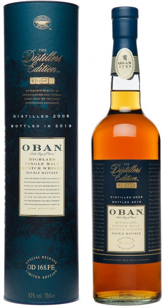 Oban Distillers Edition 2005 2019 Whisky 43 Prozent